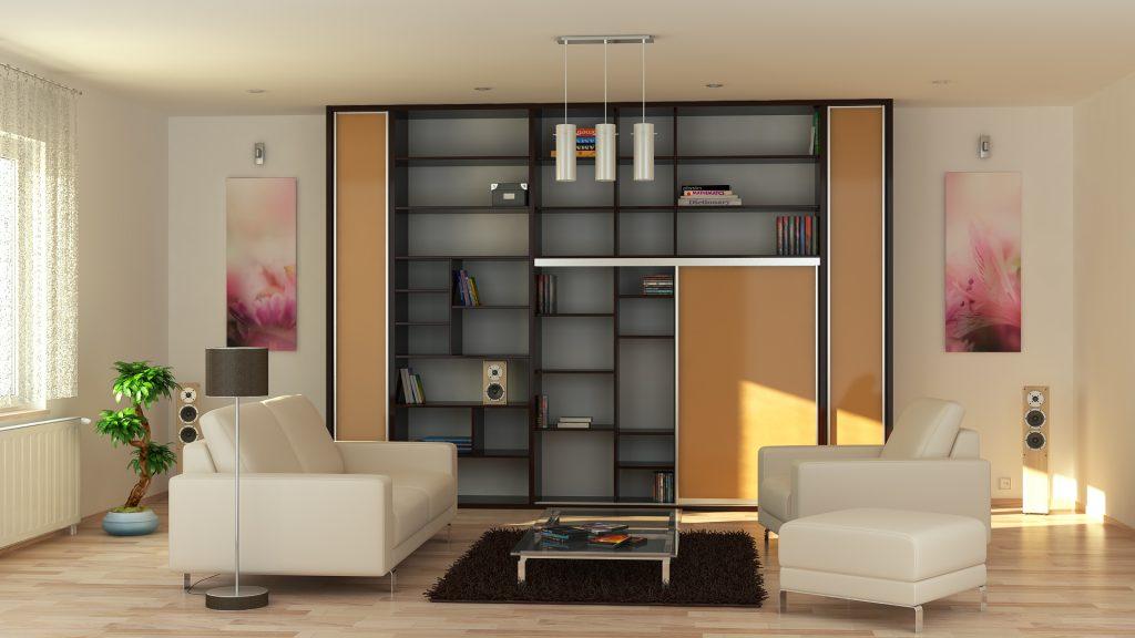 trendy obývačka