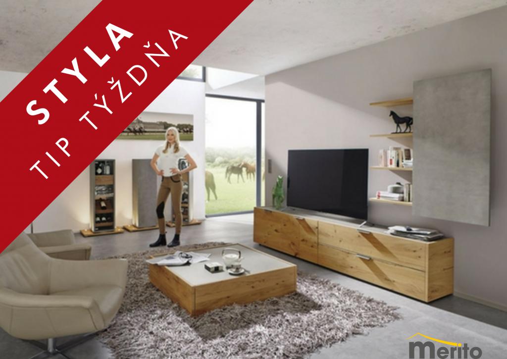 STYLA TIP TÝŽDŇA – Obývačka FENA od Merito