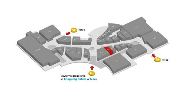 STYLA - mapa San Lorenzo