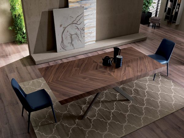 Dizajnový jedálenský stôl 4x4