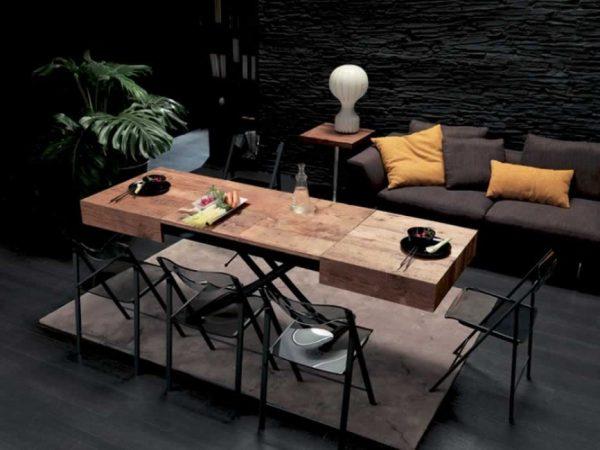 Rozkladací stôl 2v1 výškovo nastaviteľný