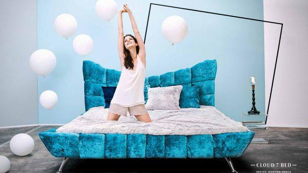 Luxusná manželská posteľ CLOUD 7
