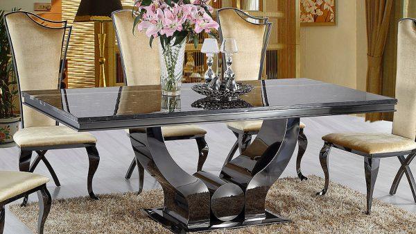 Mramorový jedálenský stôl DIAMOND