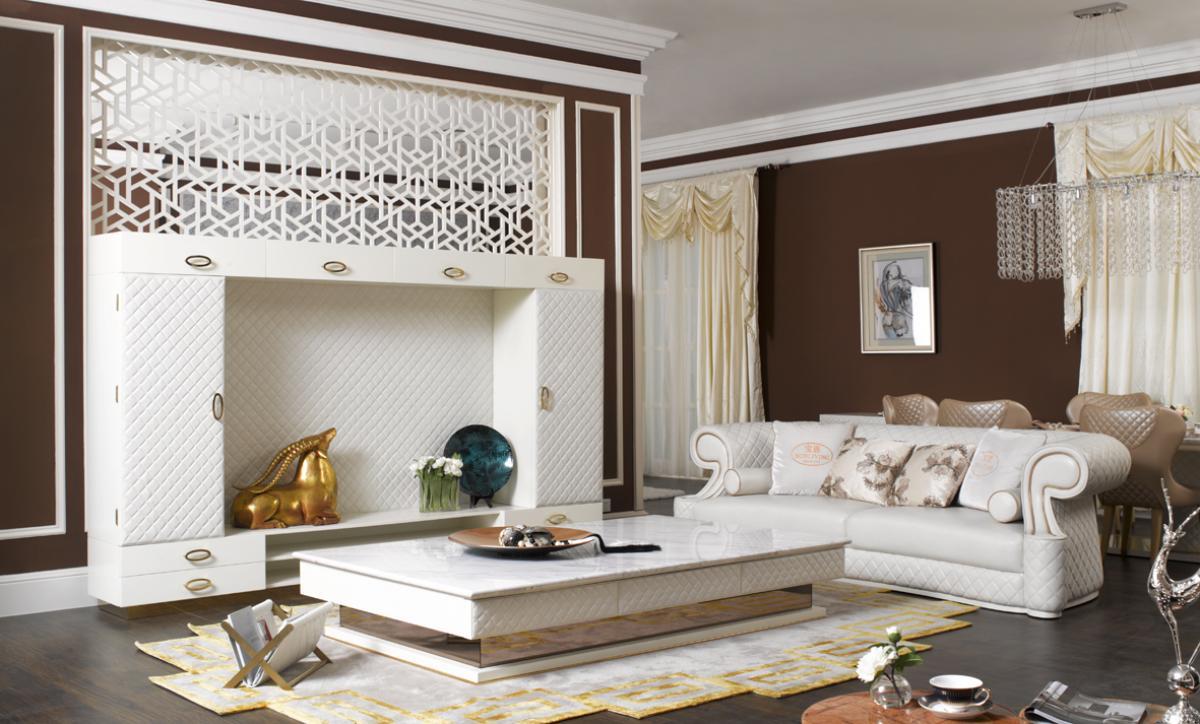 san lorenzo rustikálna obývačka