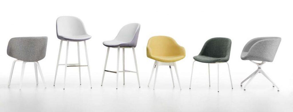SONNY stolička interiérová rôzne druhy čalúnenia