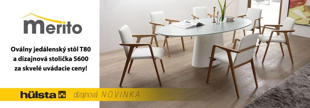 Luxusný jedálenský stôl T80 Hulsta