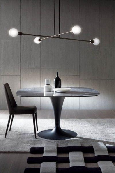 Bravo oválny jedálenský stôl
