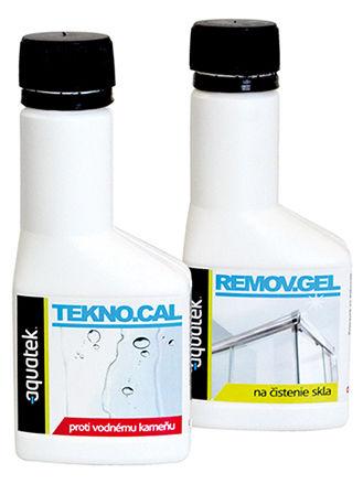 údržba skiel TEKNO.cal & REMOVE.gel