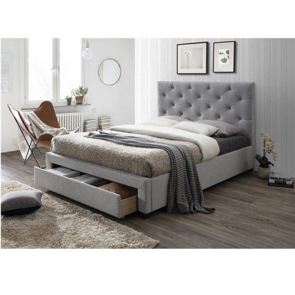 Moderná posteľ s úložným priestorom SANTOLA