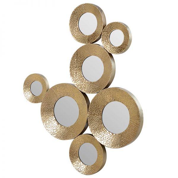 Zlaté zrkadlo Circles