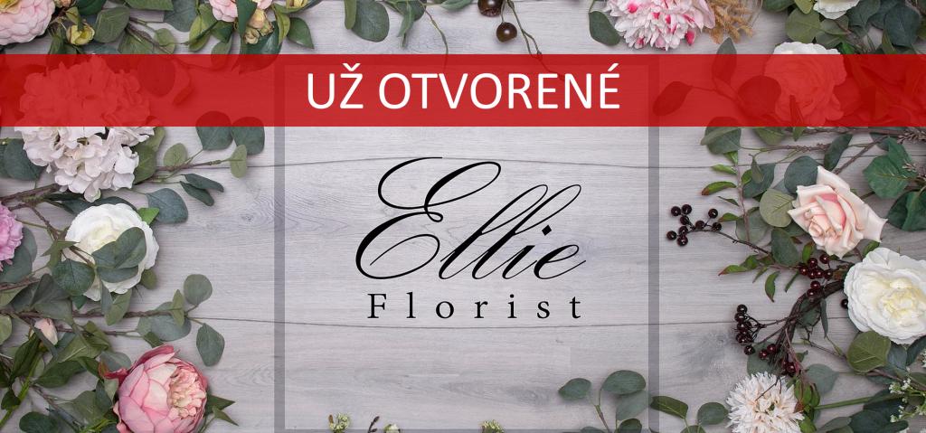 Ellie Florist už otvorené