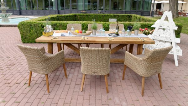 Antigua Faro natur stolová súprava