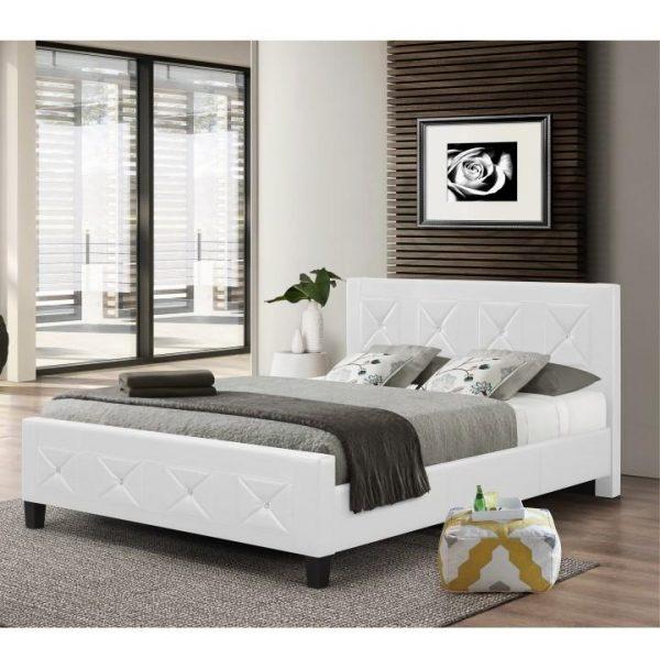 Manželská posteľ s roštom CARISA
