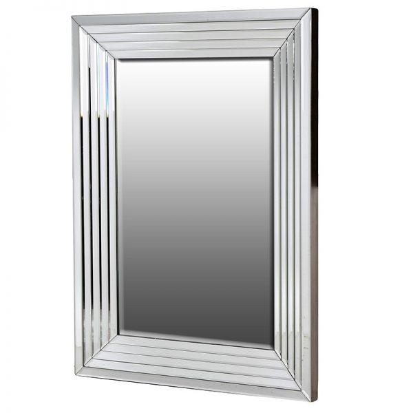 Zrkadlo so zrkadlovým rámom