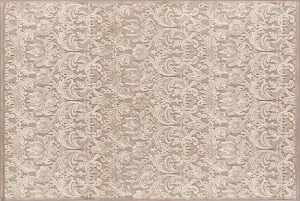 Kusový koberec GENOVA 38106/6565/90 Biela, béžová
