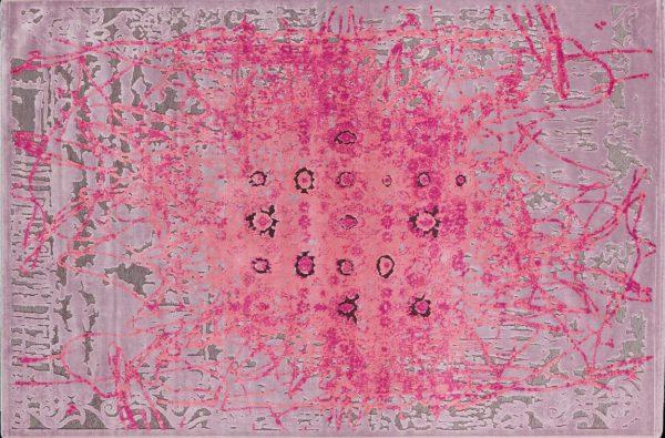Kusový koberec Antigua 227R/Q25 ružový