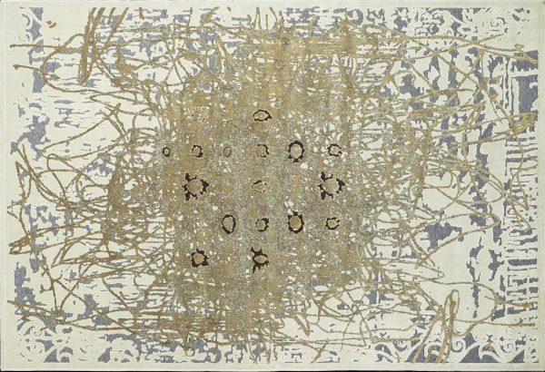 Kusový koberec Antigua 227I/Q33 zlatý