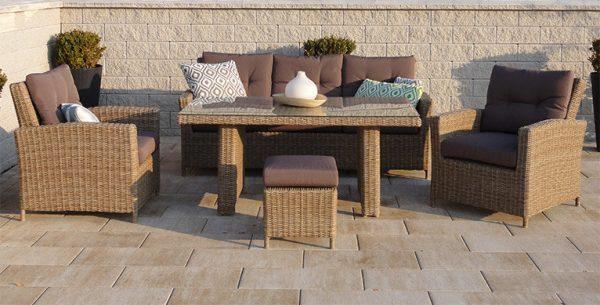Záhradný nábytok z ratanu vs umelého ratanu: (s)poznáte rozdiel?