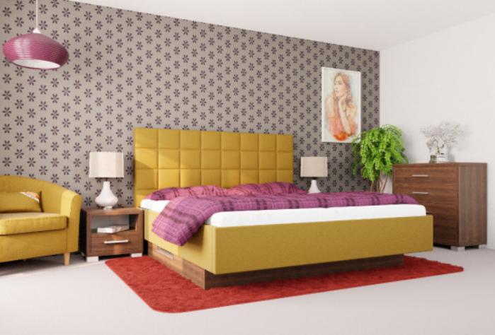 farebna postel