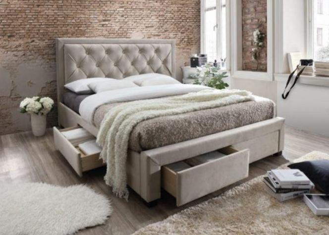 manželská posteľ - vysoké čelo