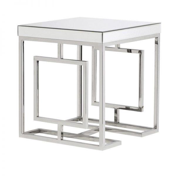 Zrkadlový príručný stolík