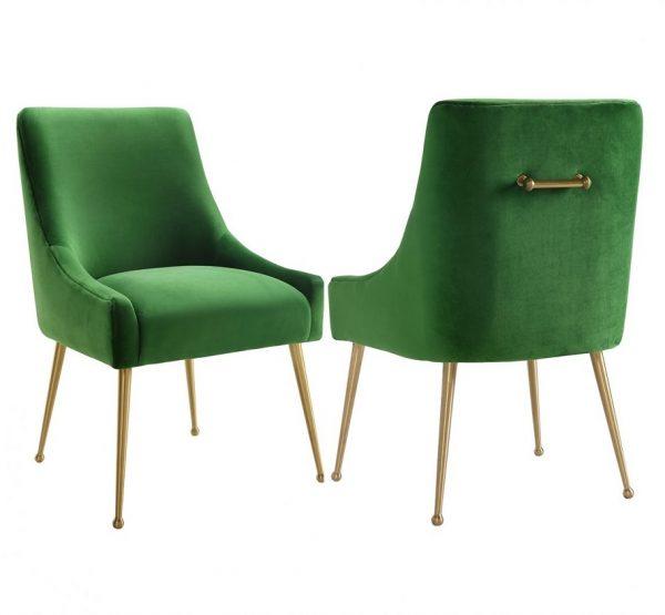 Zamatová stolička Cohen (rôzne farby)