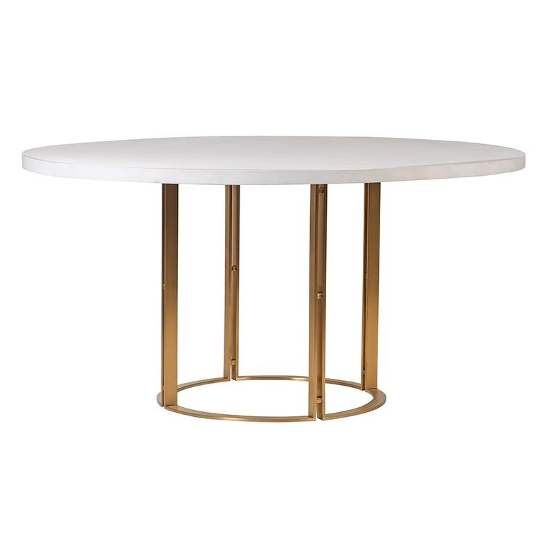 Okrúhly jedálenský stôl
