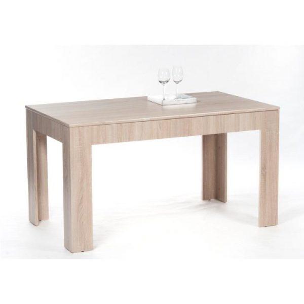Jedálenský stôl, rozkladací, dub sonoma, ADMIRAL