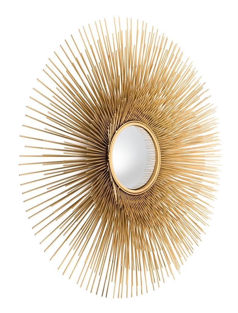 zrkadlo - zlaty ram