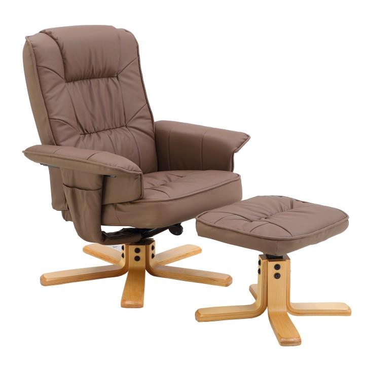 Relaxačné kreslo s podnožou LERATO