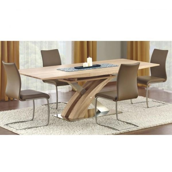 Jedálenský stôl, dub somona, BONET