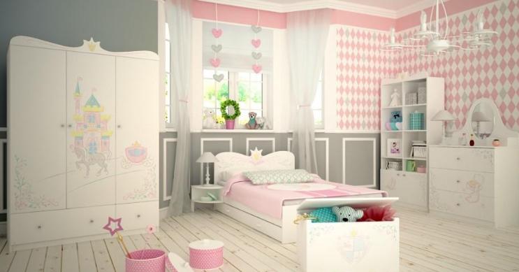 ddaa74747c1be Detská izba pre dievčatá: 5 tipov pre superhrdinky aj princezné ...