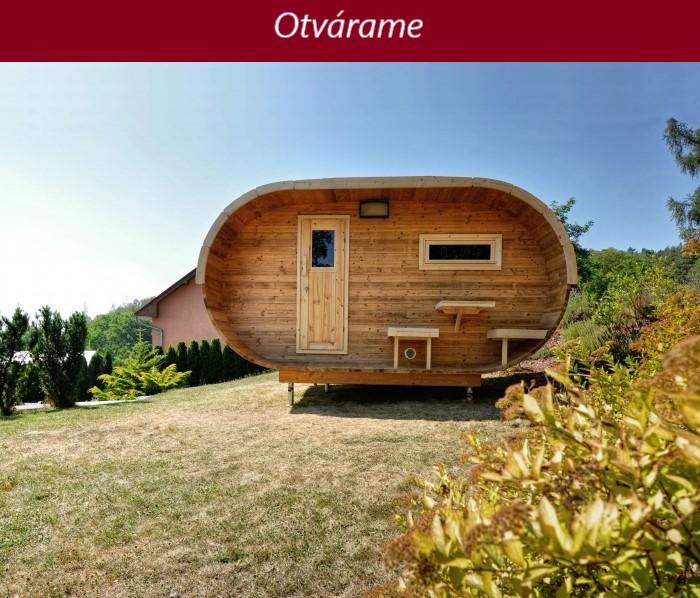 Zajtra otvárame novú predajňu Fínska sauna