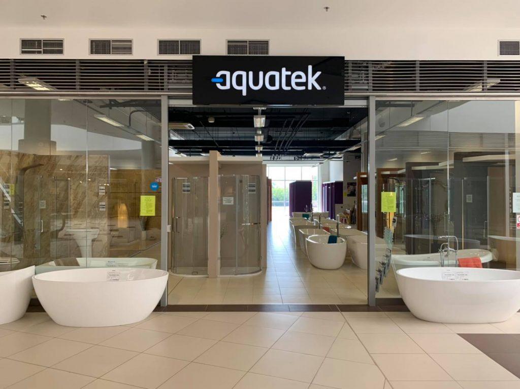 Predajňa Aquatek vo väčších priestoroch!