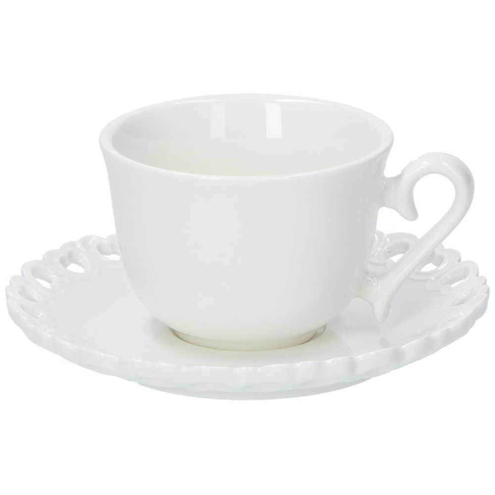 Kávová šálka s tanierikom Valentino