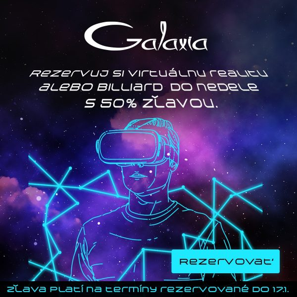 GALAXIA – centrum zábavy v OC STYLA má špeciálnu AKCIU!